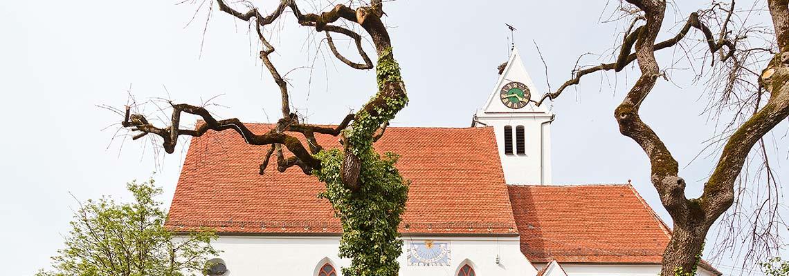Kirche-Lauben